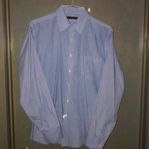 Geoffrey Beene Wrinkle Free Fitted Dress Shirt